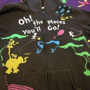 Dr. Seuss Zip Up Jacket